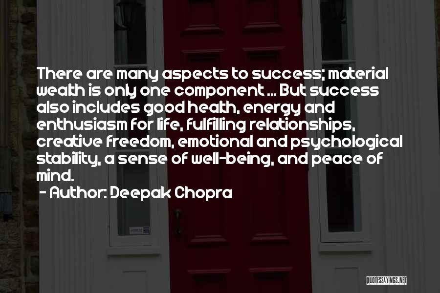 Good Emotional Life Quotes By Deepak Chopra