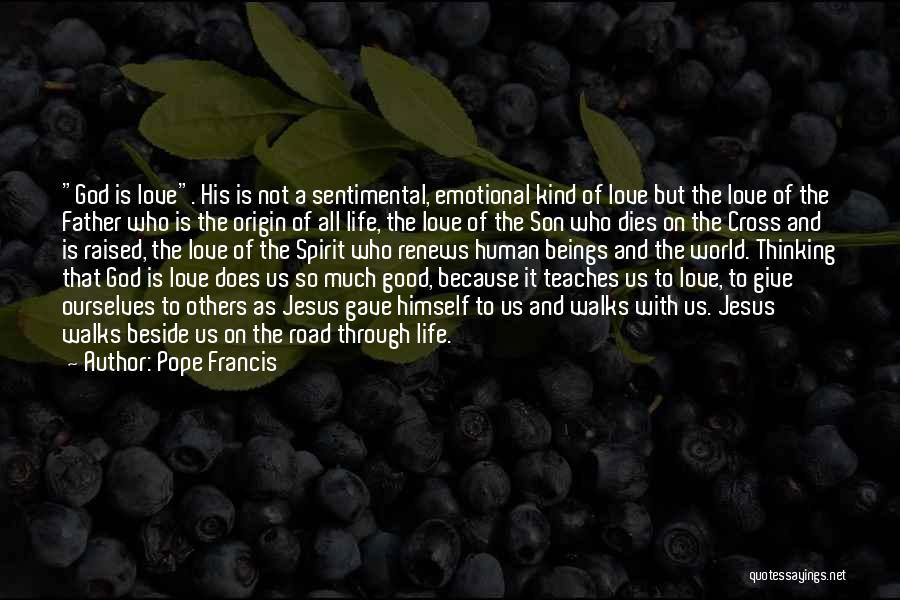 Good Emotional Life Quotes By Pope Francis