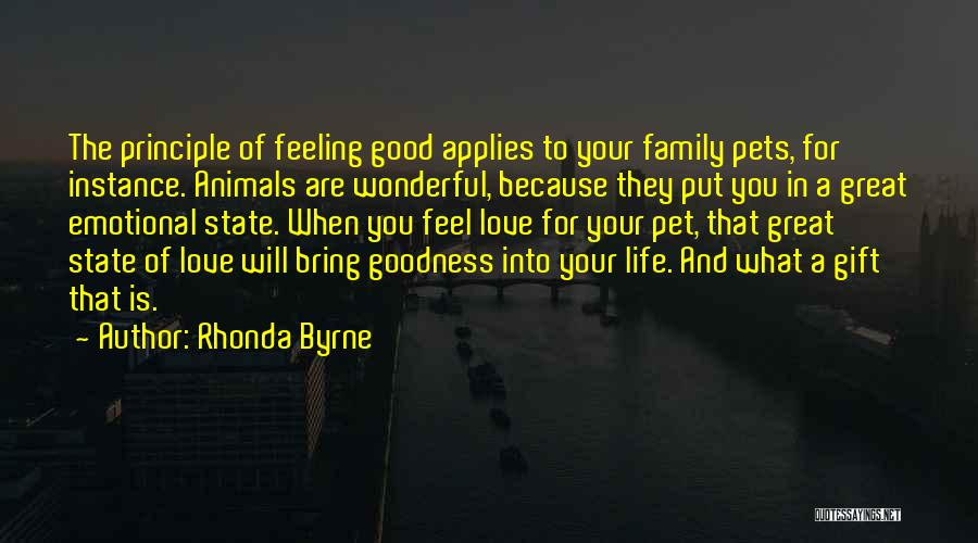 Good Emotional Life Quotes By Rhonda Byrne