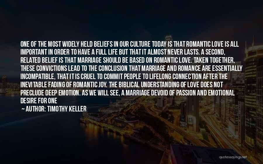 Good Emotional Life Quotes By Timothy Keller