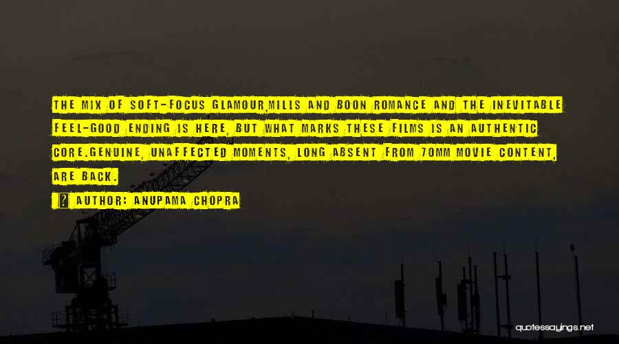Good Glamour Quotes By Anupama Chopra