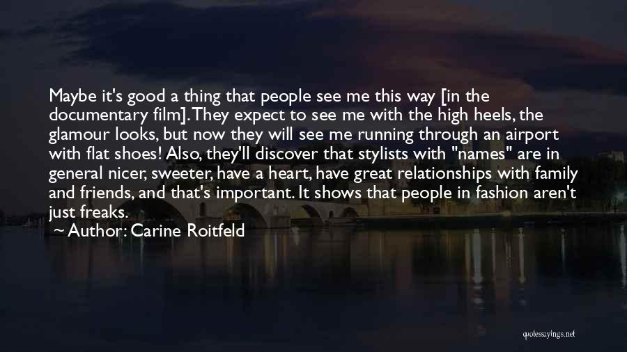 Good Glamour Quotes By Carine Roitfeld
