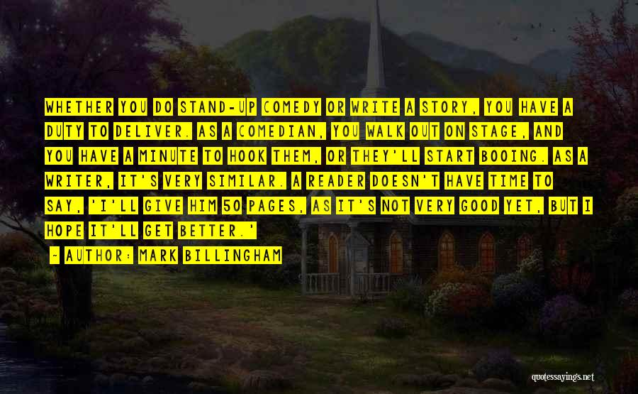 Good Hope Quotes By Mark Billingham