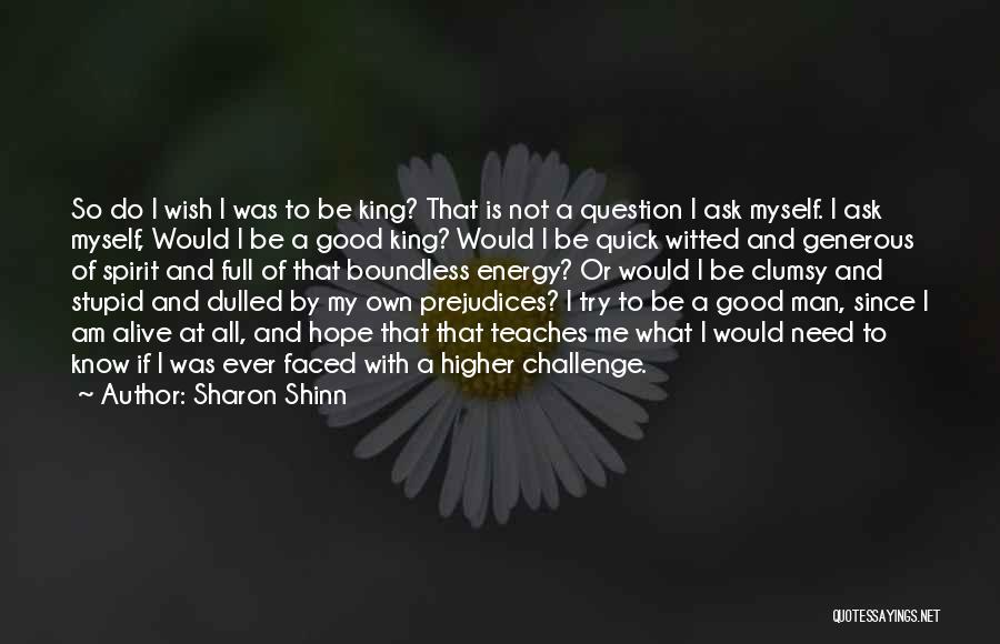 Good Hope Quotes By Sharon Shinn