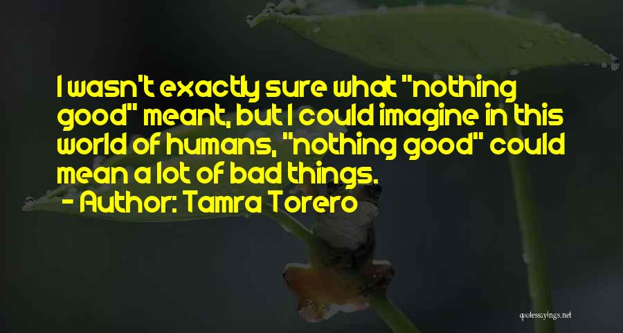 Good Humans Quotes By Tamra Torero