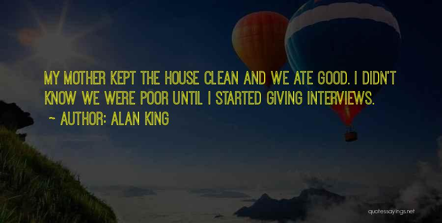 Good Interviews Quotes By Alan King