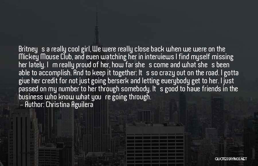 Good Interviews Quotes By Christina Aguilera