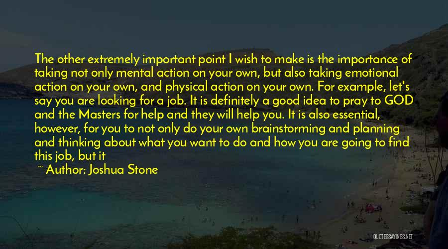 Good Interviews Quotes By Joshua Stone