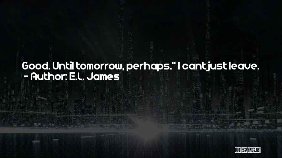 Good Judgement Quotes By E.L. James