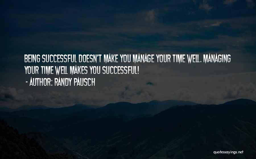 Good Judgement Quotes By Randy Pausch