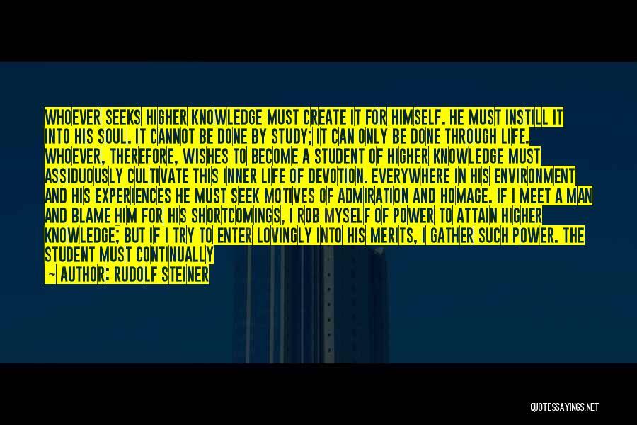 Good Judgement Quotes By Rudolf Steiner