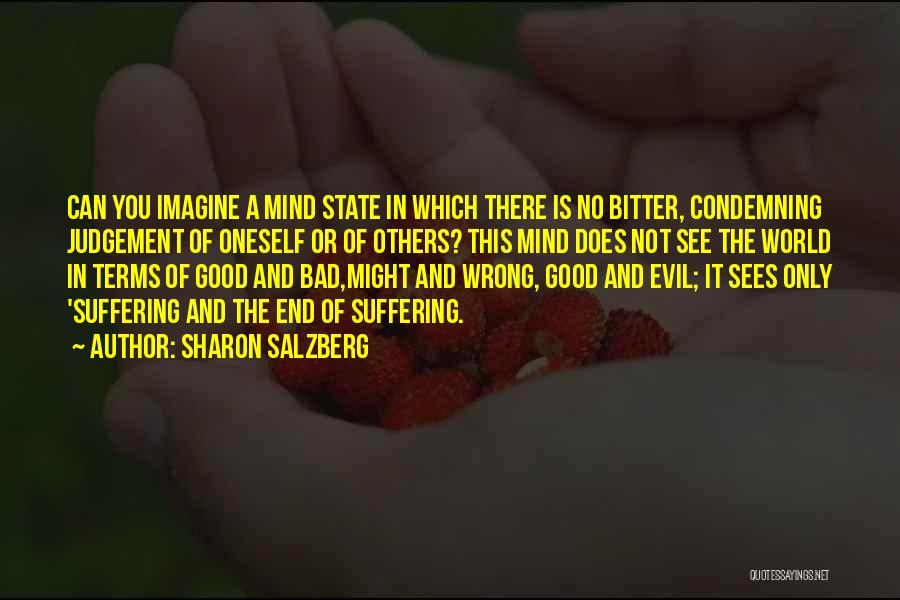 Good Judgement Quotes By Sharon Salzberg