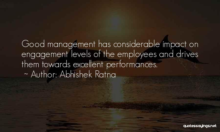 Good Manager Quotes By Abhishek Ratna