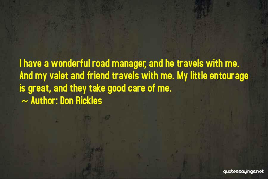 Good Manager Quotes By Don Rickles