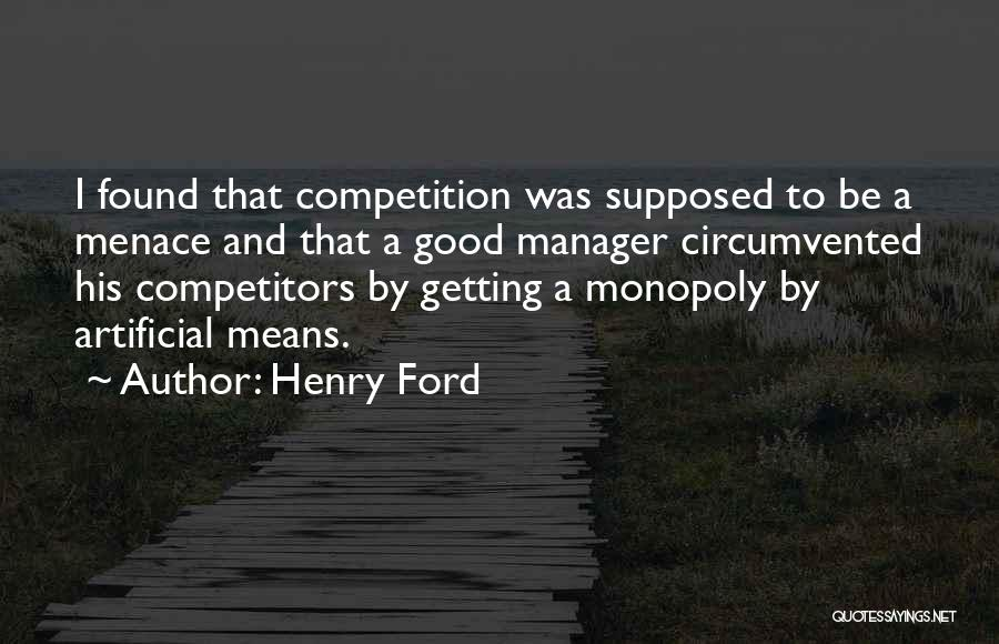 Good Manager Quotes By Henry Ford