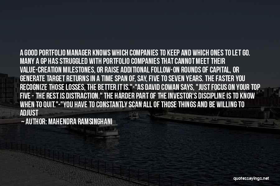 Good Manager Quotes By Mahendra Ramsinghani