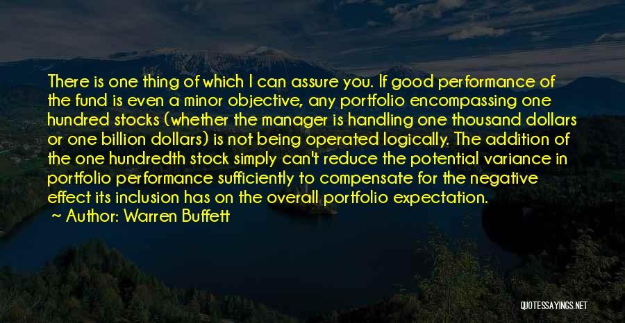 Good Manager Quotes By Warren Buffett