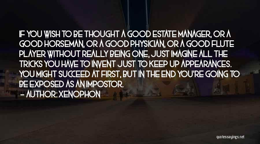 Good Manager Quotes By Xenophon