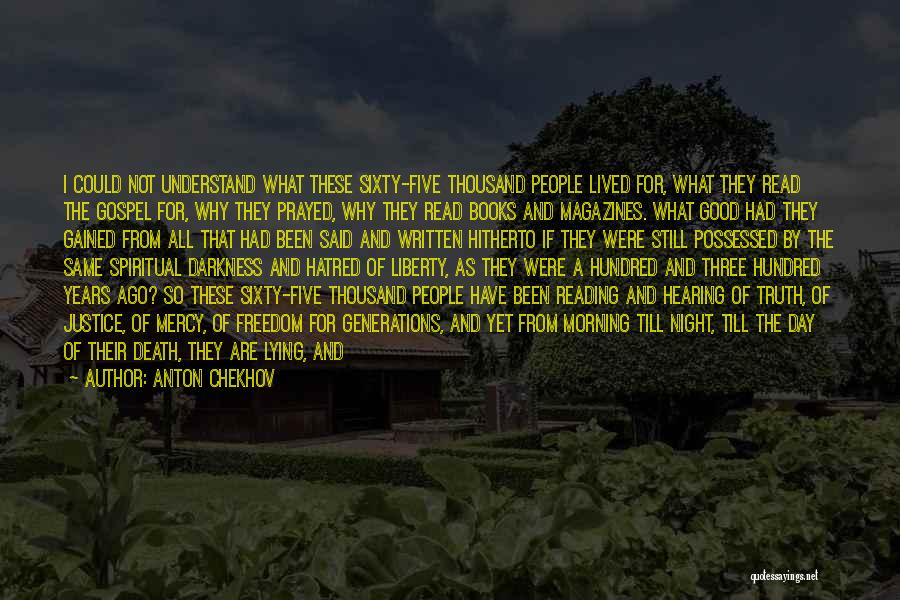 Good Morning For Quotes By Anton Chekhov