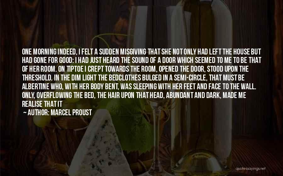 Good Morning For Quotes By Marcel Proust