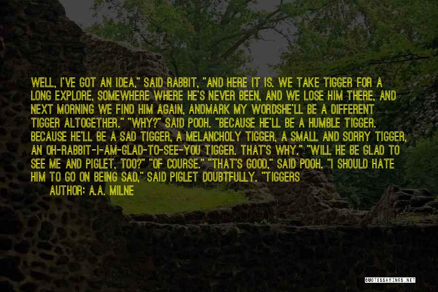 Good Morning Quotes By A.A. Milne