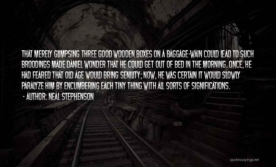 Good Morning Quotes By Neal Stephenson