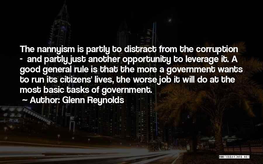 Good Nanny Quotes By Glenn Reynolds