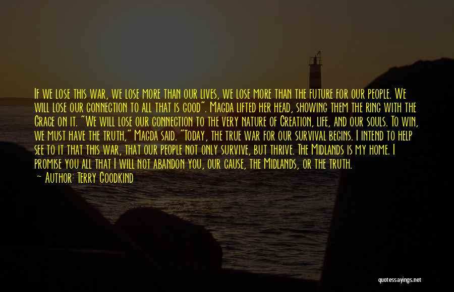 Good Promise Ring Quotes By Terry Goodkind