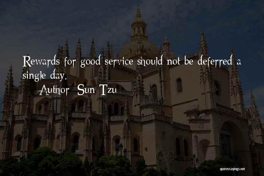 Good Rewards Quotes By Sun Tzu