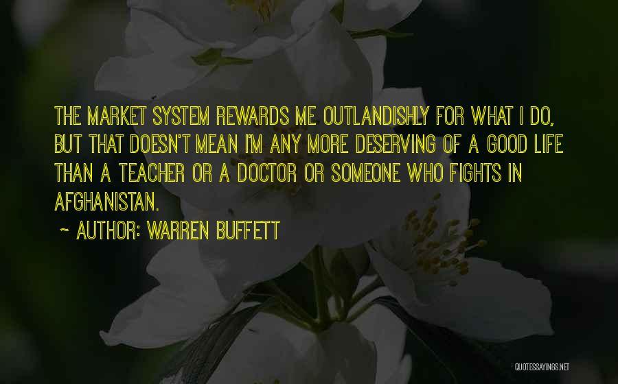 Good Rewards Quotes By Warren Buffett