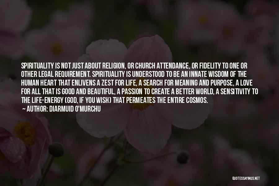 Good Search Quotes By Diarmuid O'Murchu