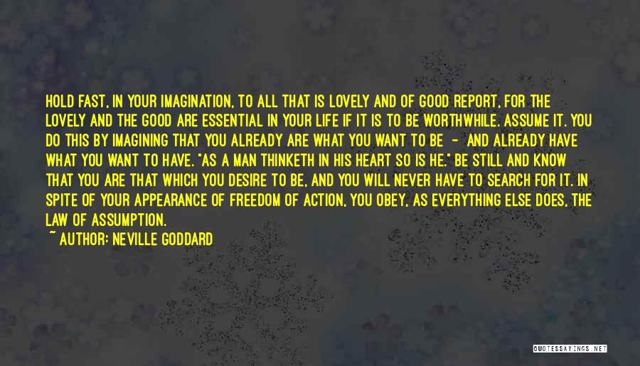 Good Search Quotes By Neville Goddard