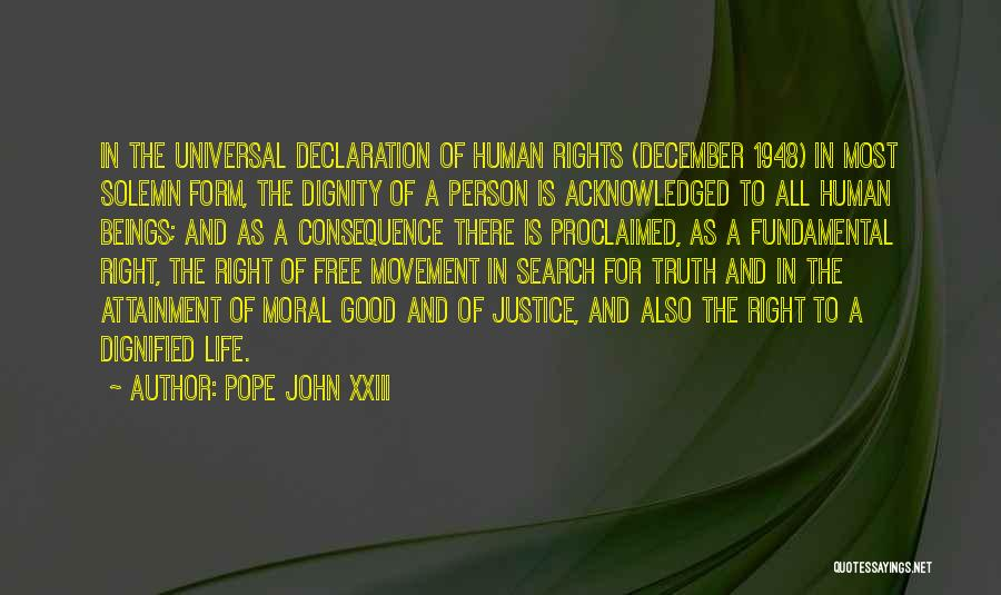 Good Search Quotes By Pope John XXIII