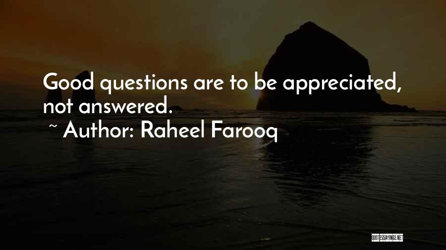 Good Search Quotes By Raheel Farooq