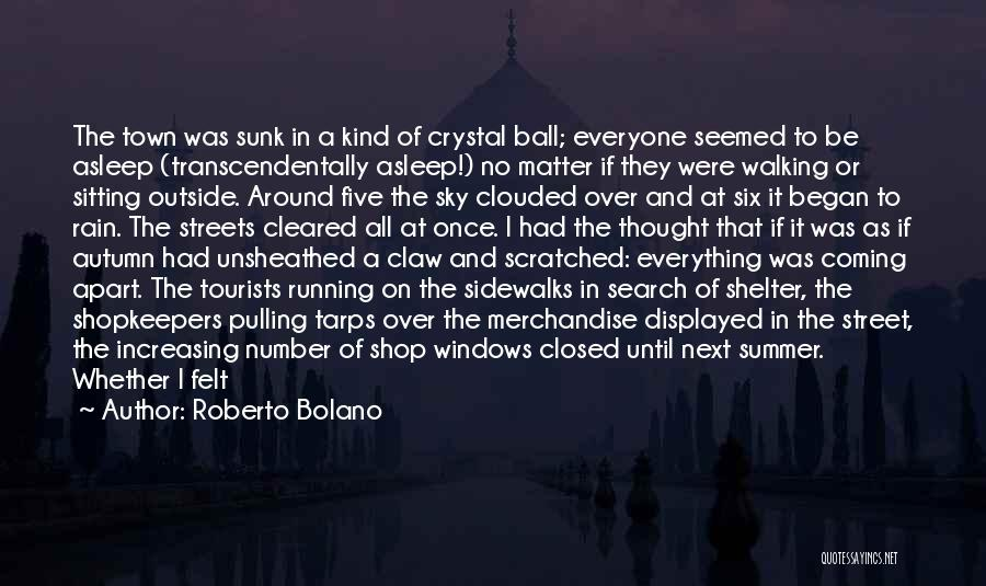 Good Search Quotes By Roberto Bolano