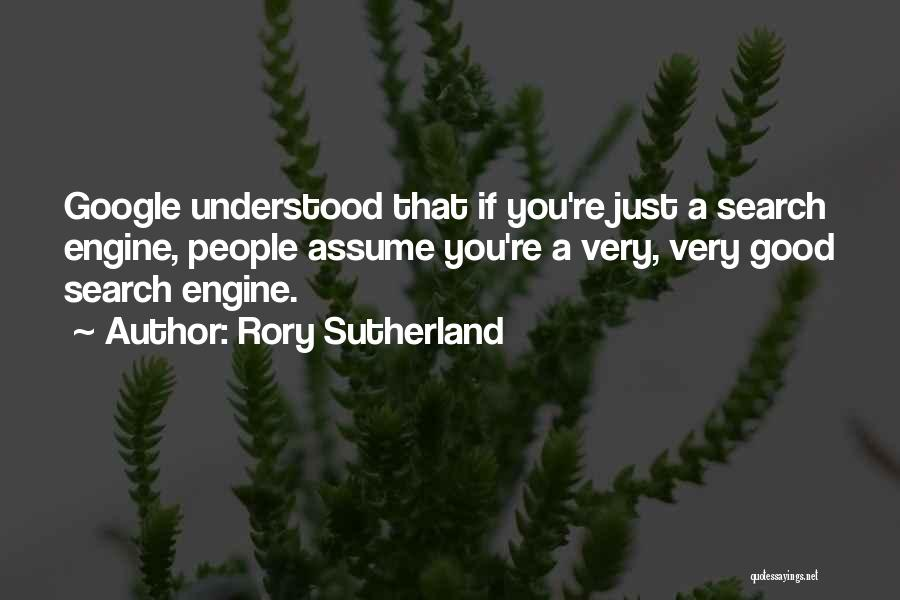 Good Search Quotes By Rory Sutherland
