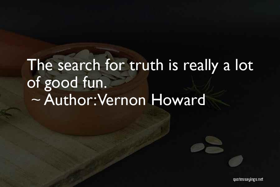 Good Search Quotes By Vernon Howard