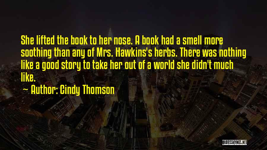 Good Story Book Quotes By Cindy Thomson