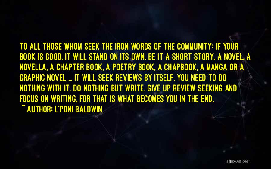 Good Story Book Quotes By L'Poni Baldwin