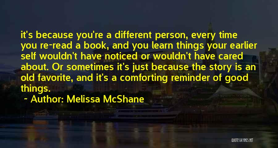 Good Story Book Quotes By Melissa McShane