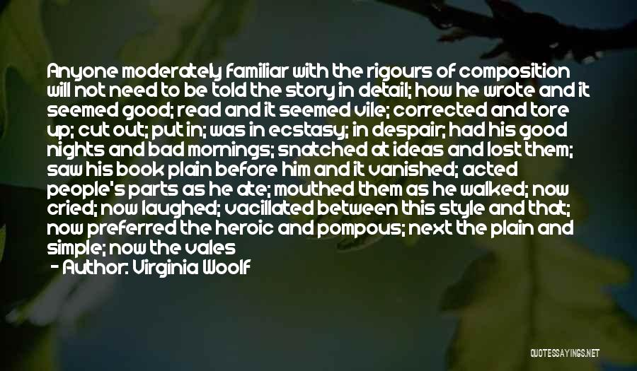 Good Story Book Quotes By Virginia Woolf