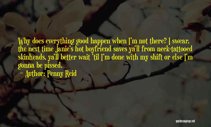 Good Swear Quotes By Penny Reid