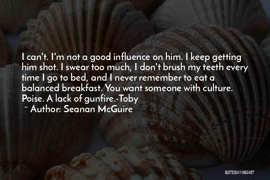 Good Swear Quotes By Seanan McGuire