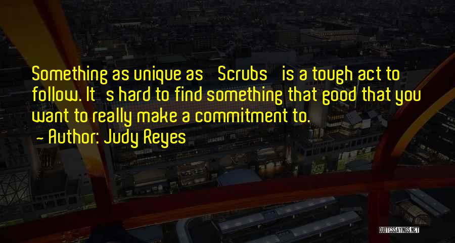 Good Things Are Hard To Find Quotes By Judy Reyes