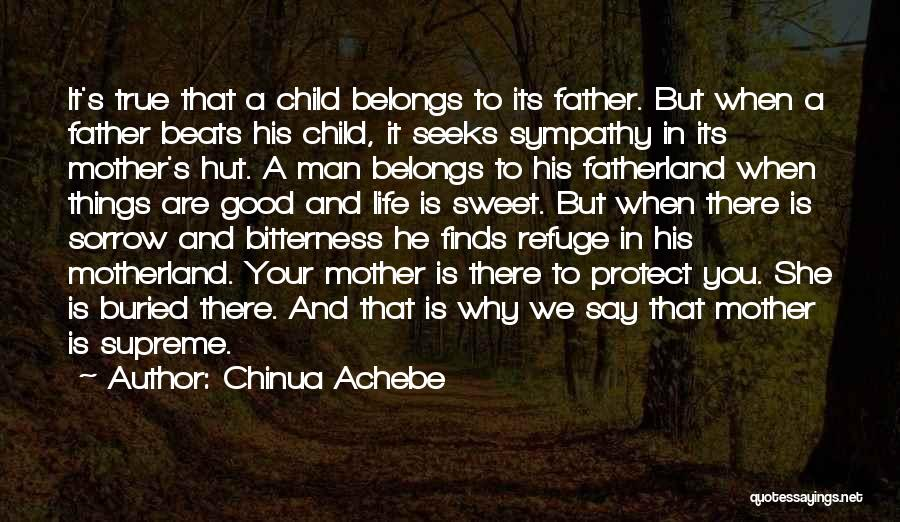 Good Things In Life Quotes By Chinua Achebe