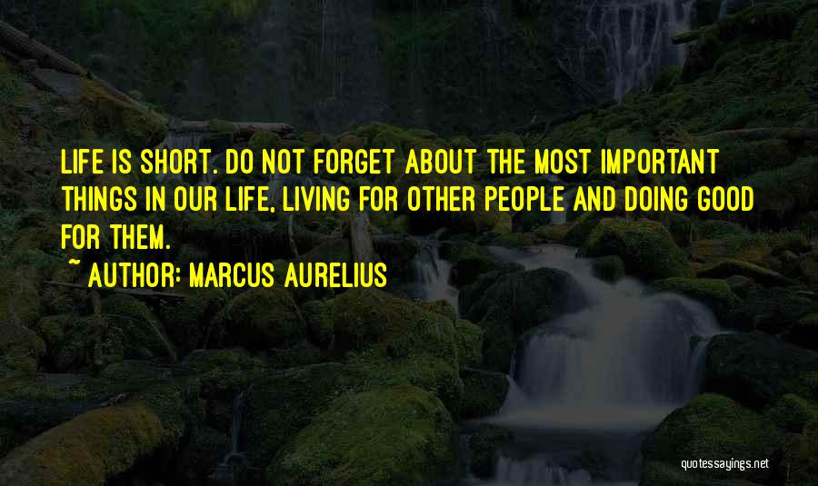 Good Things In Life Quotes By Marcus Aurelius