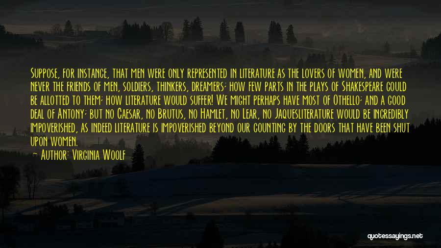 Good Thinkers Quotes By Virginia Woolf