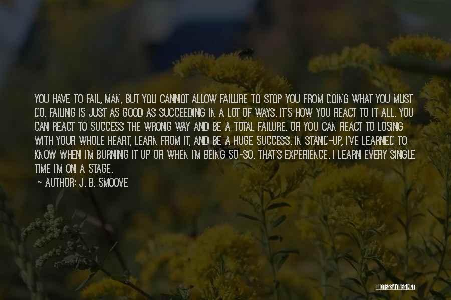Good To Know Where I Stand Quotes By J. B. Smoove