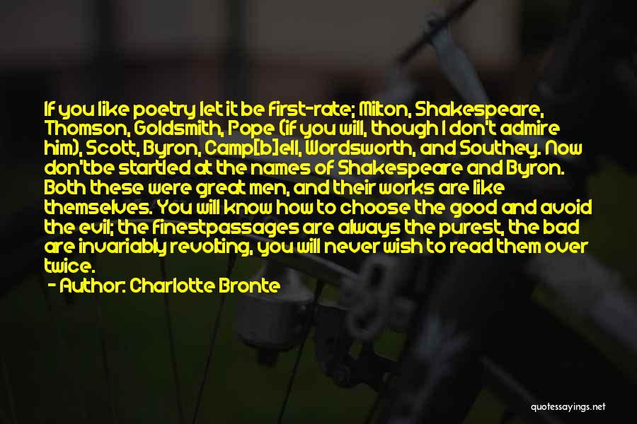 Good To Know You Quotes By Charlotte Bronte