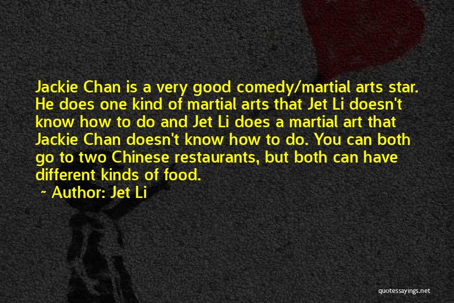 Good To Know You Quotes By Jet Li